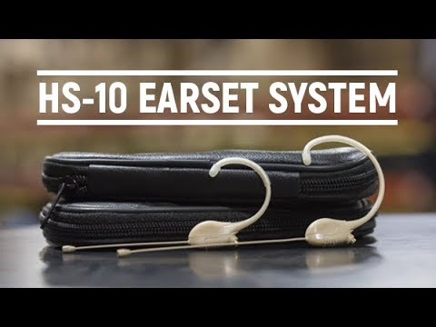 HS-10 EarSet Microphone System