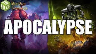 10,000 Point Apocalypse - Necrons vs Imperium - The Apothis Crusade 40k Battle Report Ep 21