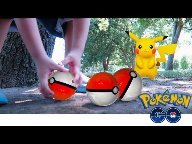 POKEMON GO IN REAL LIFE!| HOW TO CATCH PIKACHU IN POKEMON GO