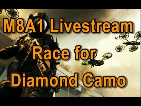 M8A1! Part 1 - Race for Diamond Camo Assault Rifles! Black Ops 2 4pm Livestream