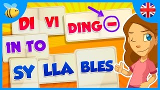 How To Divide Words Into Syllables  Educational Videos For Kids