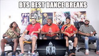 BTS: Best Dance Breaks REACTION