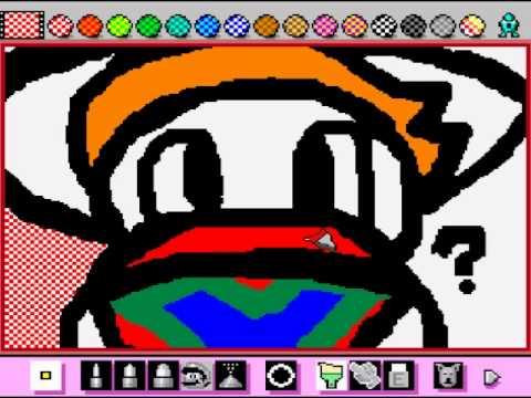 Mario Paint - Vizzed.com 2014 Christmas Contest entry - User video