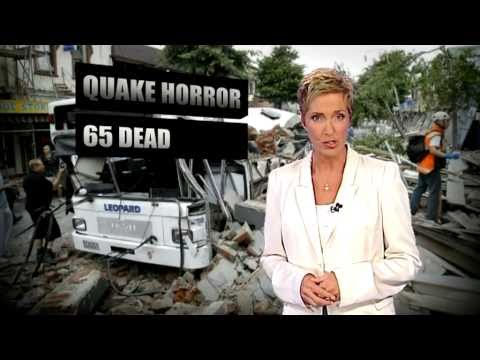 Nine News Perth Christchurch Earthquake coverage .. February 22, 2011