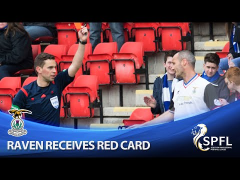 David Raven red carded during draw with Saints