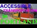 getting around portland in a wheelchair