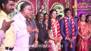 Producer Vinoth Kumar And Sindhu Wedding Reception
