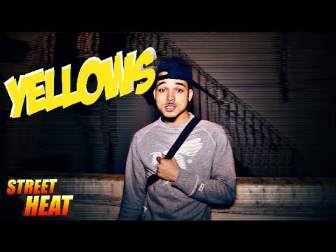 Yellows - #StreetHeat Freestyle [@YellowsUk] Link Up TV