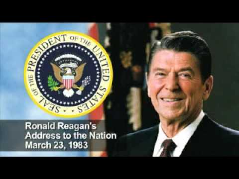 Reagan Discusses the Strategic Defense Initiative