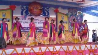 Nil noyona dance performance in nobin boron