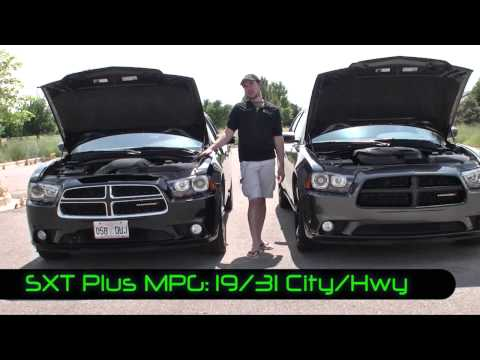 Real Comparison: 2013 Dodge Charger R/T MAX v. SXT Plus V6