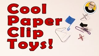 Cool Paper Clip Toys!