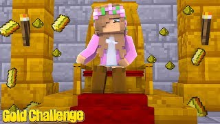 THE IMPOSSIBLE GOLD CHALLENGE !!| Minecraft Bed Wars w/ Little Kelly