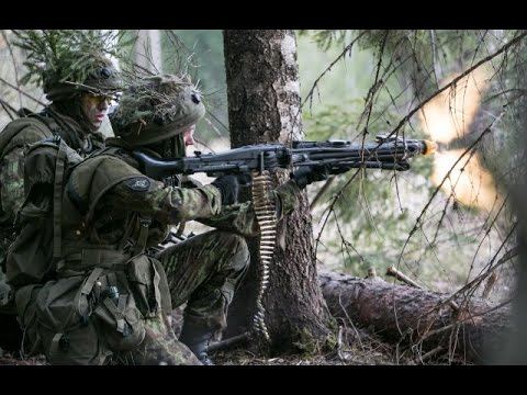 US Army vs Estonian Army - Winter Warfare Training
