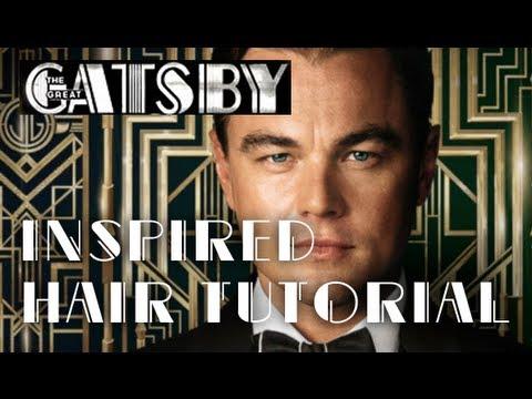 Leonardo DiCaprio :: The Great Gatsby Inspired Hair Style Tutorial ...