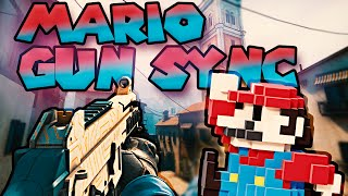 CS:GO Gun Sync | Mario Theme (thewcoop Trap Remix)