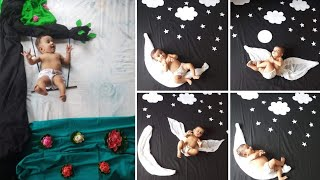 baby photoshoot idea | easy baby photoshoot