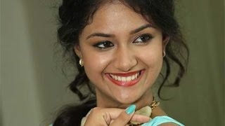 Keerthi Suresh Tries to Reach the First Place