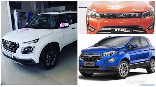 Hyundai venue vs Mahindra xuv300 vs Ford EcoSport | Detail comparison 🔥🔥🔥 | Price | VFM