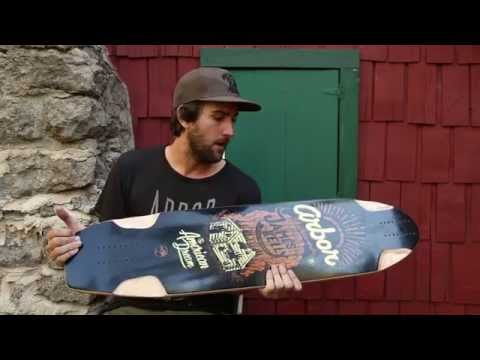 Arbor Skateboards :: James Kelly - Pro Model Product Highlight