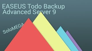 Instalar EaseUS Todo Backup Advanced Server 9 FULL (Crack)
