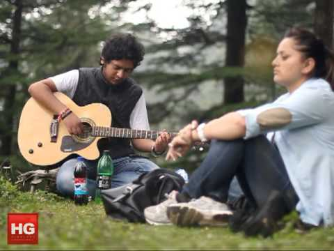 Himachali folk song Kali Ghagri by Anshul Kapoor (acoustic cover...