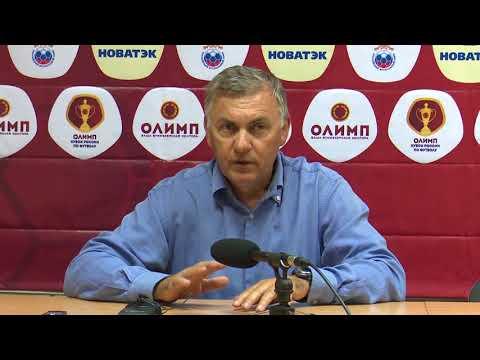 Спартак-Нальчик - Динамо-Москва  /Пресс-конференция/ 20.09.17