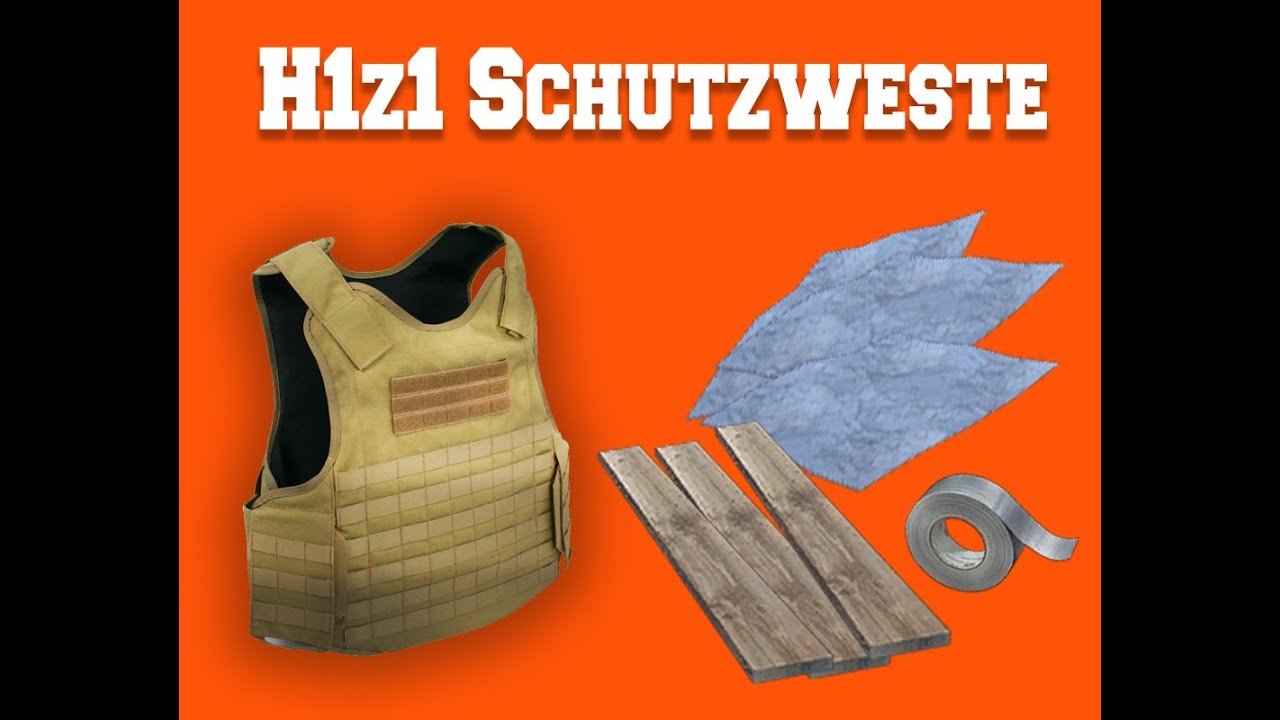 Plate Armor H1z1 Craft a Plated Body Armor