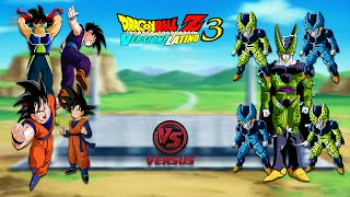 FAMILIA GOKU vs FAMILIA CELL - Dragon Ball Z Budokai Tenkaichi 3 Version Latino