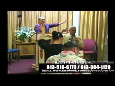 Culto Evangelistico Concilio Pentecostal Senda Antigua, AMIP Tampa Bay. Florida USA. 10-25-2015.