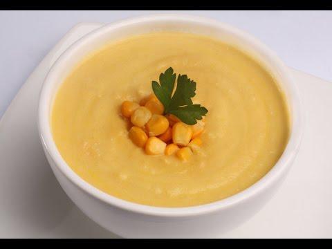 Clique e veja o vídeo Receita Creme de Milho