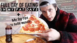 Full Day Of Eating When I Was Overweight | 4,000+ CALORIES | My Top Tips To Build Muscle