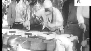 1930s South Africa, Tribal Dancing, Archive Footage Podblanc Comedy
