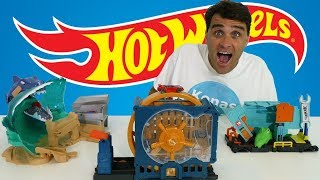 Hot Wheels Super Bank Blast Out Playset ! || Toy Review || Konas2002