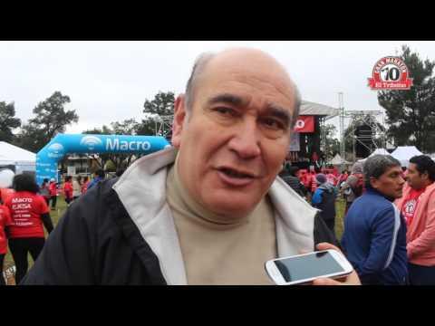 Entrevistas a funcionarios en el X° Maratón de El Tribuno de Jujuy