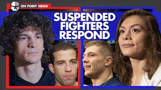All 4 UFC Fighters Suspended By USADA Respond