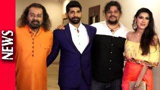 Vishal Bhardwaj And Hariharan At The Launch Of Music Video Afsaane