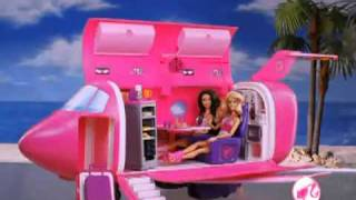2010 Canadian Barbie Glam Vacation Jet Commercial
