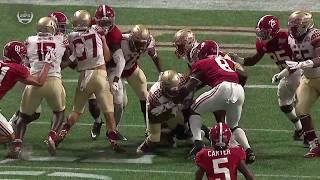 Alabama vs FSU, 2017 (in under 28 minutes)