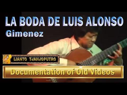 Lianto Tjahjoputro- La Boda de luis Alonso- Gimenez