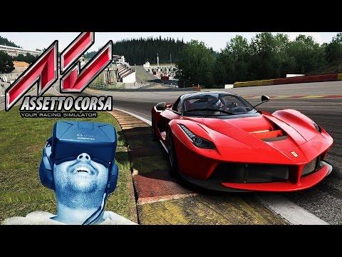 Oculus Rift DK2 - Assetto Corsa - LaFerrari @ SPA Francorchamps