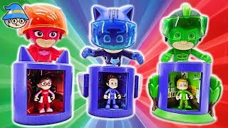 PJ Masks Wrong HQ Transform Heroes. PJ Masks episode videos of Romeo and Night Ninja.
