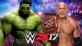 The Incredible Hulk vs. Goldberg