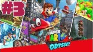 Super Mario Odyssey (Nintendo Switch) ~ Part 3 - Kingdom horizons at reach