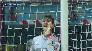 Gianluigi Donnarumma vs Sassuolo (Home) [DEBUT] 25/10/2015