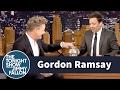 Jimmy Interviews Gordon Ramsay with a Swear Jar -