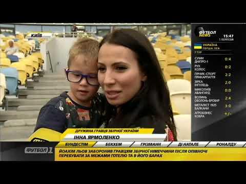 Футбол NEWS от 05.09.2018 (15:40) | Открытая тренировка сборной, заявка Шахтера на ЛЧ