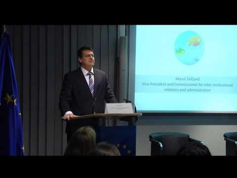 European Commission Digital Competence Day - Vice-President Maroš Šefčovič