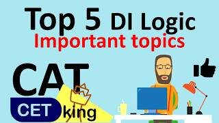 DI Logic CAT 2017 Syllabus - Top 5 most important topics