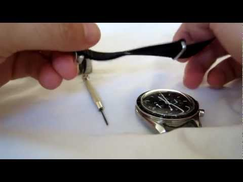 Omega Speedmaster Professional Moon Watch - Strap change (nato)
